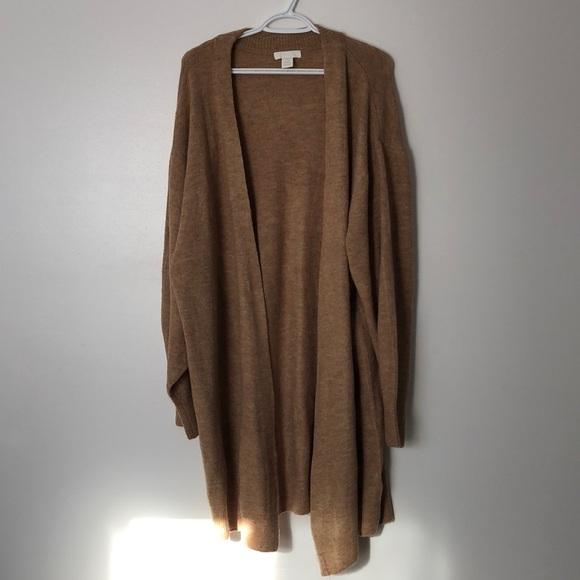 H&M Long Fine Knit Cardigan